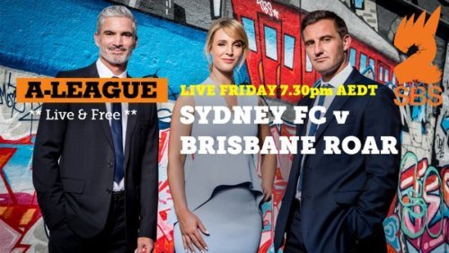 Ad for SBS Aleague