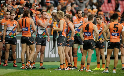 AFL Rd 16 - GWS v Collingwood